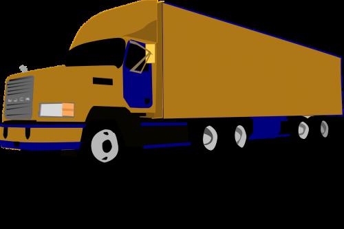 truck 18-wheeler freight