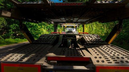 truck  truck mounted crane  semi trailers