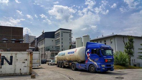 truck  industry  gas