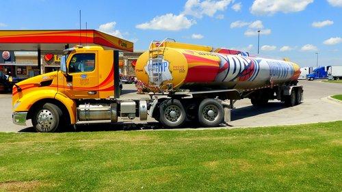 truck  american  transport