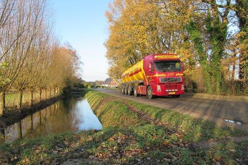 truck  channel  traffic