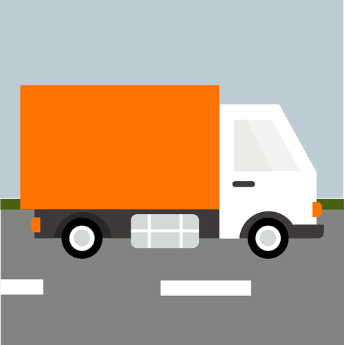 truck  delivery truck  delivery