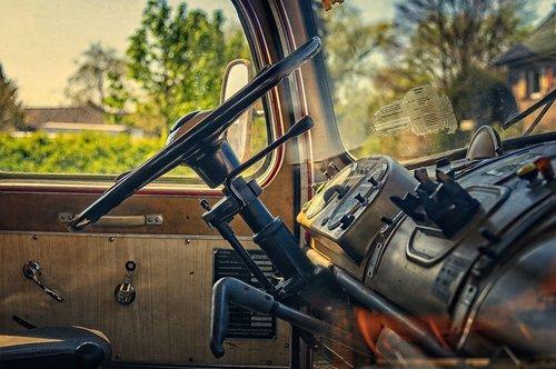 truck  oldtimer  vehicle