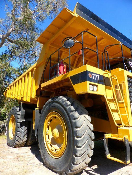 truck heavy construction