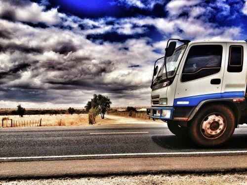 truck travel lorry