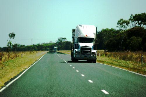 truck australia highway