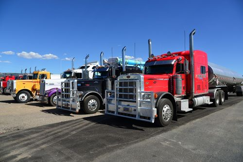 truck semi trailers usa