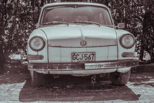 truck old volkswagen