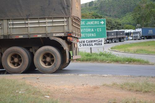 truck road highway