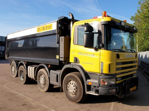 truck lorry scania