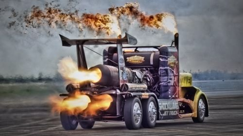 truck on steroids truck jet truck