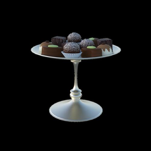 truffles  silver  plate