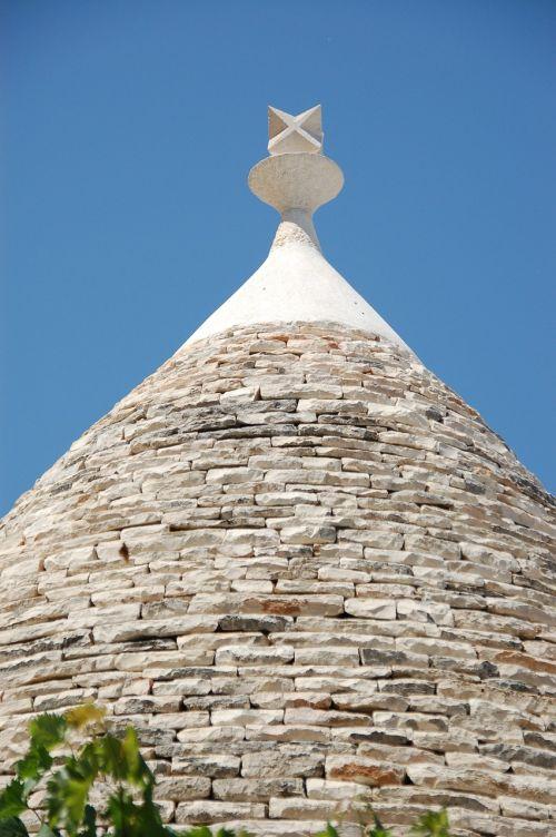 trulli puglia roof