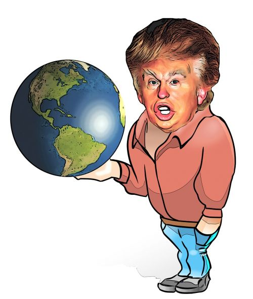 trump globe choice