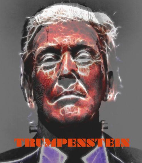 trump candidate frankenstein