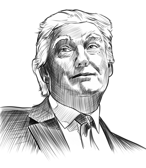 trump portrait gage skidmore
