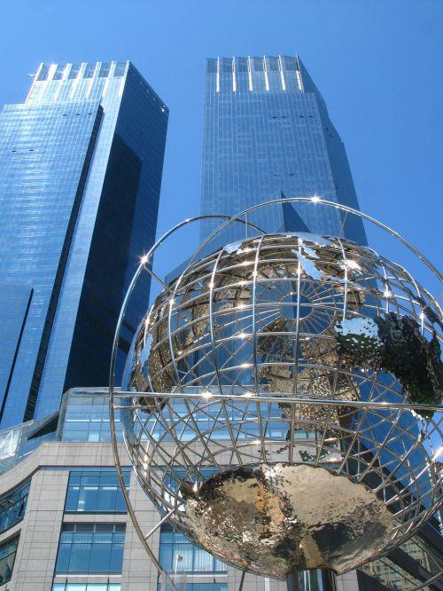 trump towers globe earth