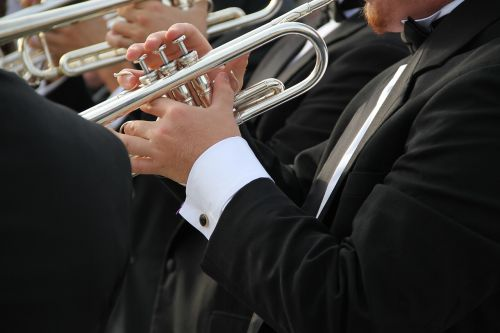 trumpet tuxedo orchestra