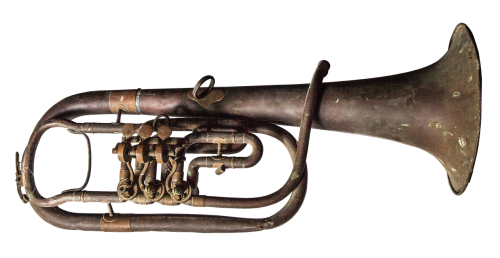 trumpet old brass