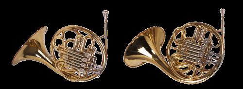 trumpet horn wind instrument