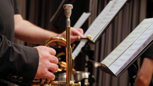 trumpet music stand music