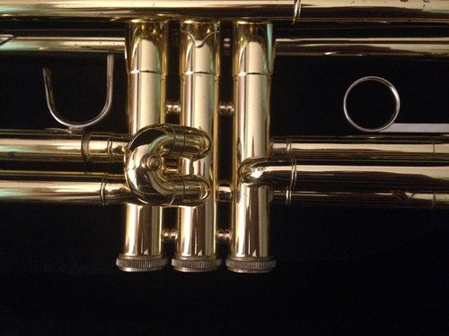 trumpet  valves  trumpet body