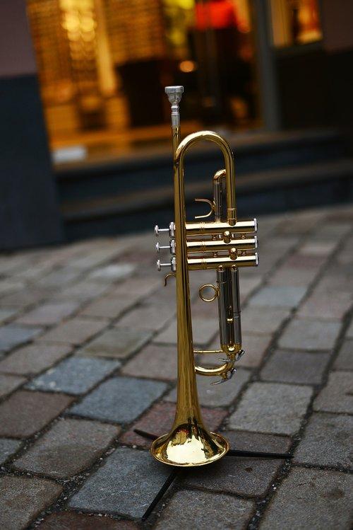 trumpet  brass instrument  music