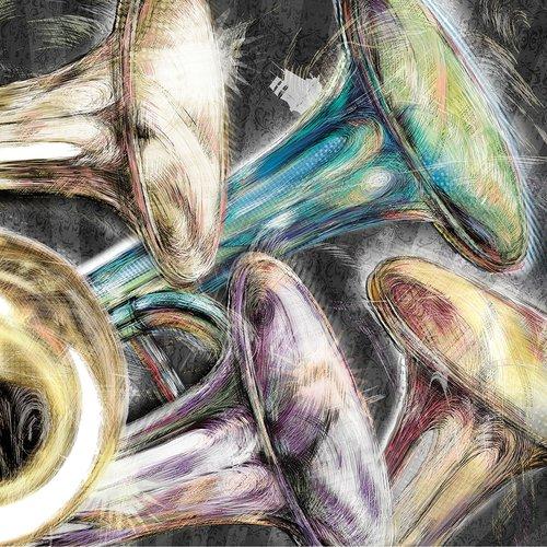 trumpet  trombone  brass instrument