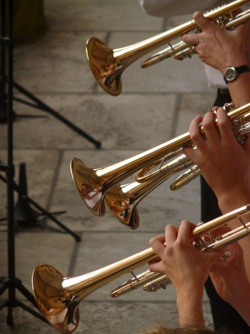 trumpet trumpet player music