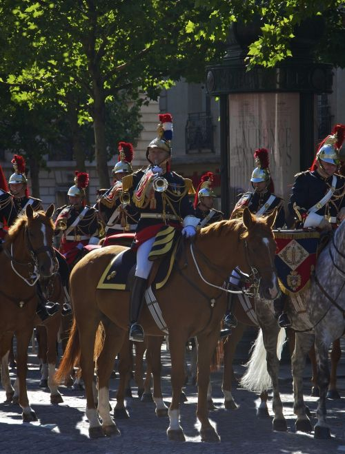 trumpet fanfare staff captain cavalry
