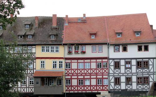 truss fachwerkhaus old town