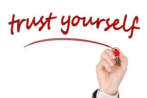 trust self confidence pen
