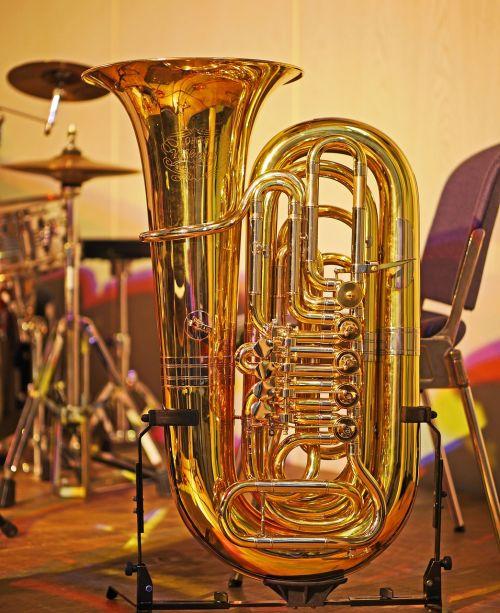 tuba drums jazz