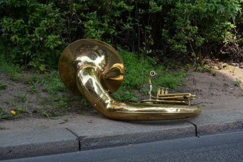 tuba musical instrument brass band