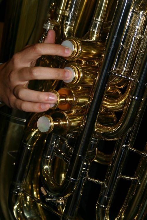 tuba copper piston