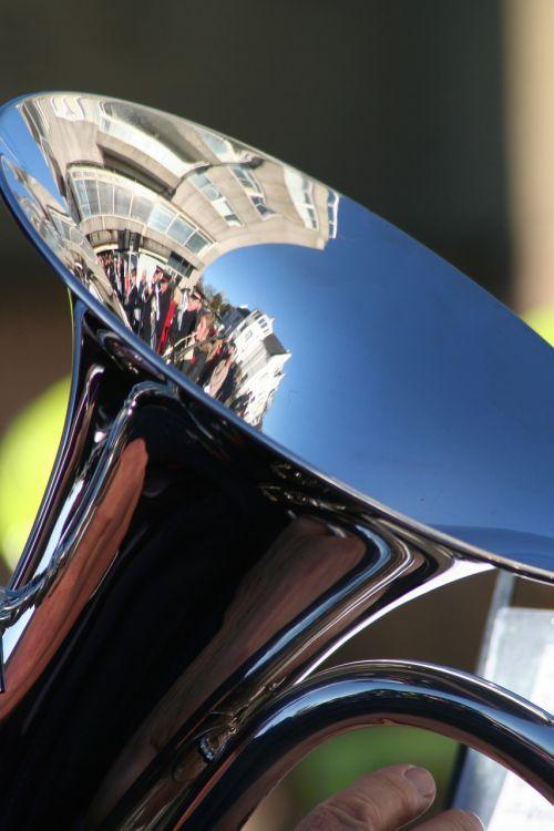 tuba crowd brass