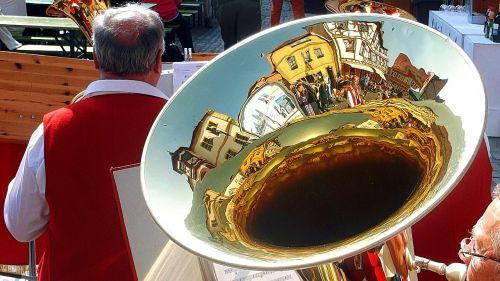 tuba mirroring folk festival