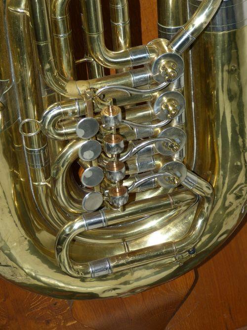 tuba valves music
