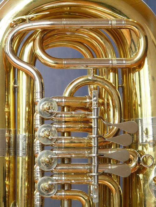 tuba valves rotary valves