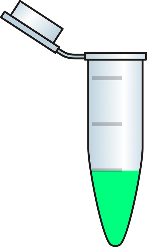 tube fluorescence green