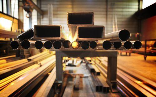 tube steel metal