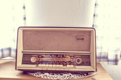 tube radio radio old