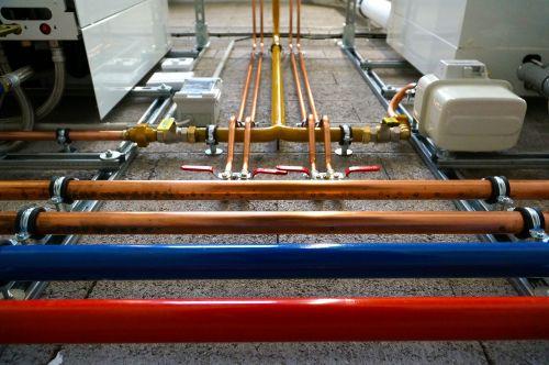 tubing plumbing heating