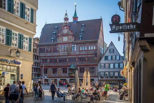 tübingen town hall marketplace
