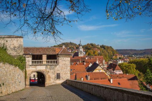 tübingen castle hohentübingen university city