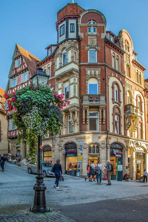 tübingen university city old town