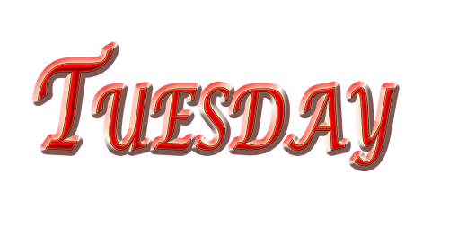 tuesday,day,weekday,red tuesday
