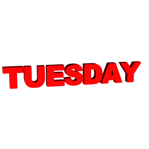 tuesday day week