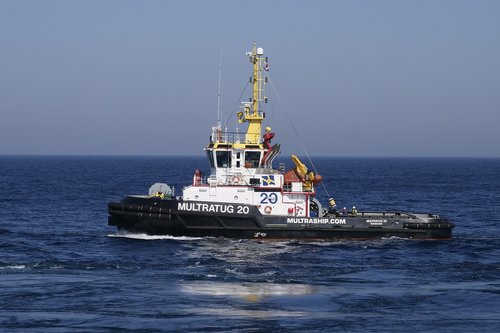 tug  towage  north sea
