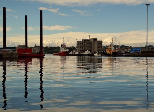 vilkikas, valtis, ferolinas, uostas, prieplauka, vilkikai ferrol